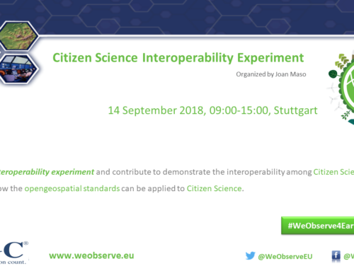 Citizen Science Interoperability Experiment (CitSciIE)